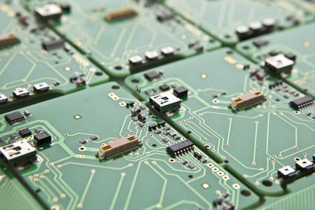 printed circuit plate photo
