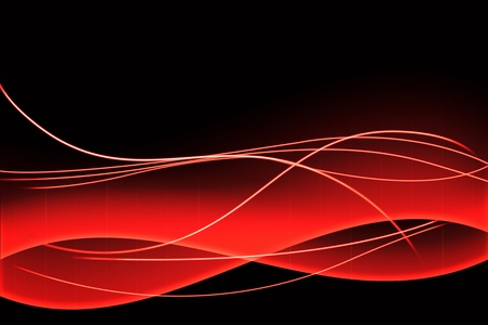 Dark abstract background with lightning effects and copy space. photo