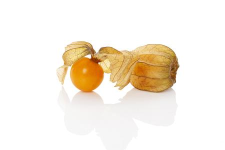ground cherry: Physalis, ground cherry isolated on white background