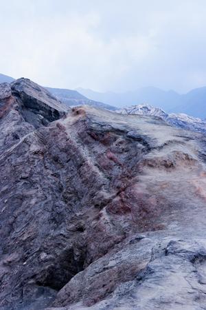 ブロモ山火山、トングリ山塊、東ジャワ、インドネシア、アジア。グヌン ブロモ。