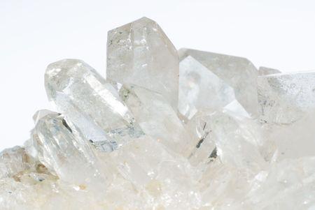 Fractie van kwarts kristallen