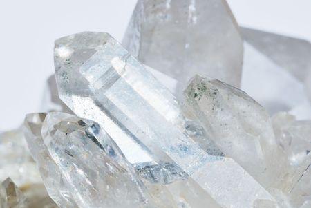 gemology: Gruppo di cristalli di quarzo