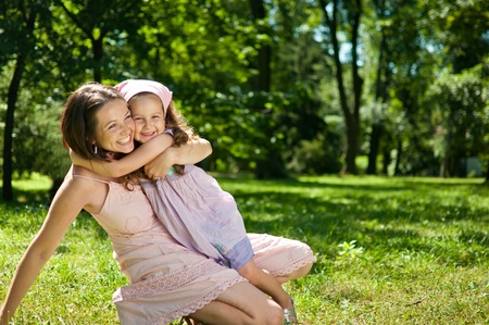 Happiness - mother with her child Stock Photo - 10461417