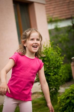 cheerfull: Happy child