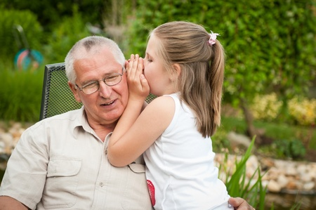 grandparents: Happy retirement Stock Photo