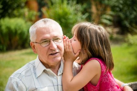 grandchild: Tell me secret