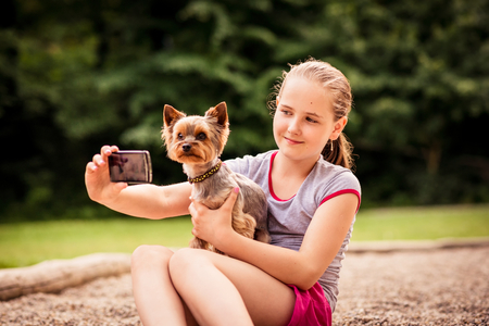 capturing: Capturing moments child and dog