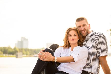 feeling good: Couple feeling good together