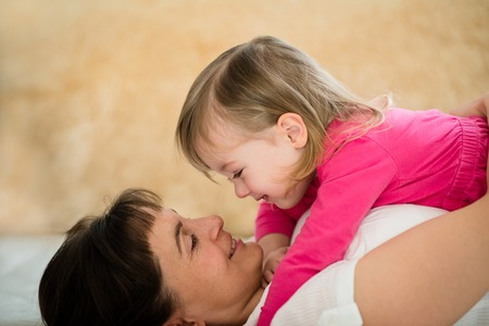 mother love: Happiness - mother and daughter