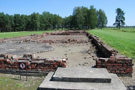 auschwitz memorial: Auschwitz Birkenau - Crematorium