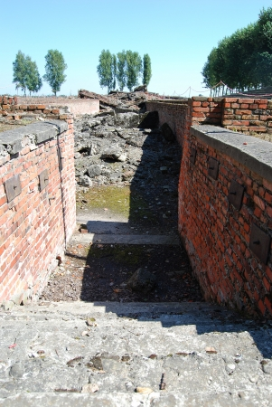 Birkenau - Crematorium Stock Photo - 22383887