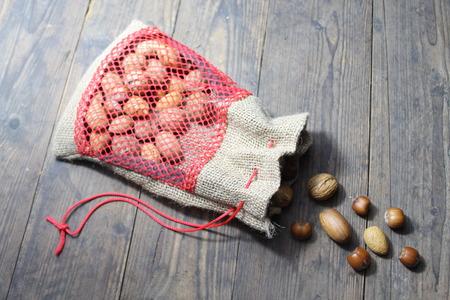 Mixed nuts Stock fotó