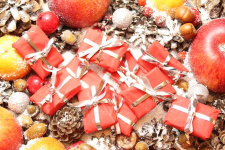 Decoración navideña Foto de archivo
