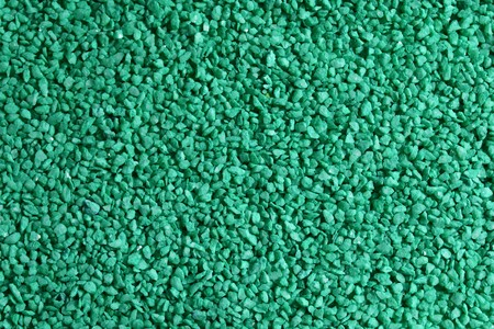 Green decorative granulate