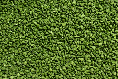 green decorative granulate Banco de Imagens