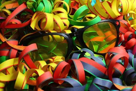Happy carnival decoration