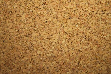 A background with brown cork