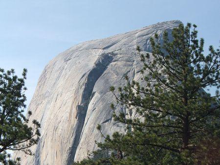 half dome: Half Dome  Stock Photo