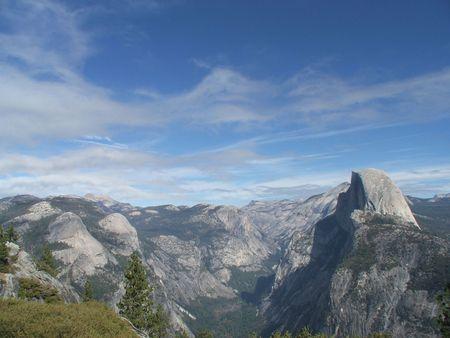 half dome: Half Dome, Yosemite Stock Photo