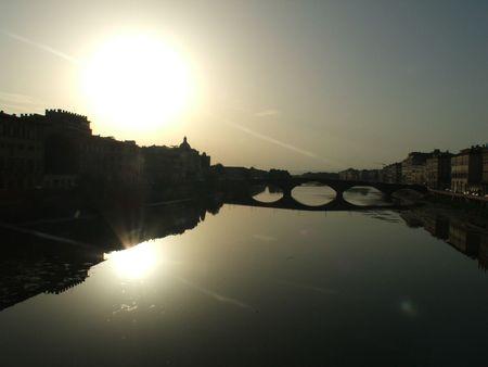 river arno: River Arno, Florence Stock Photo