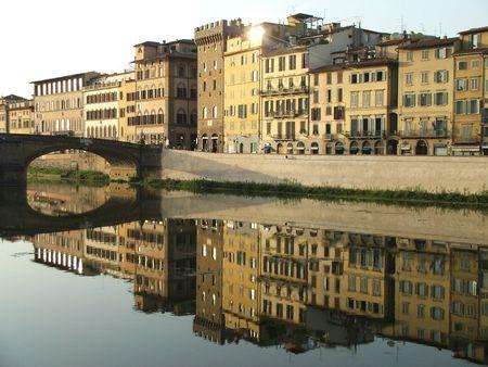 arno: River Arno, Florence Stock Photo