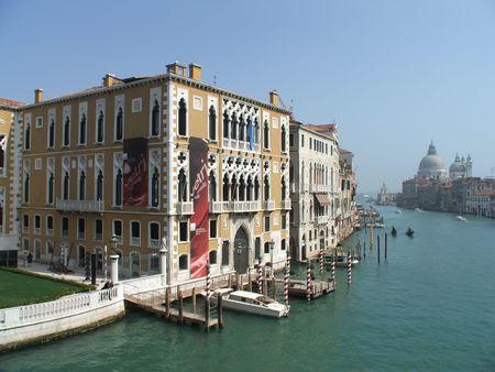 grande: Canal Grande, Venice Stock Photo