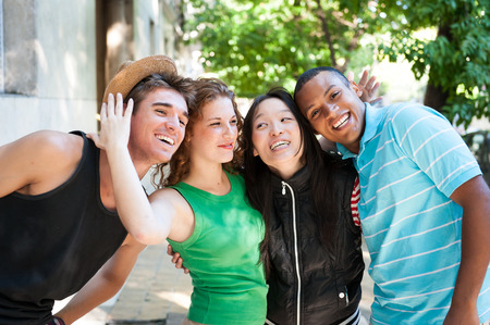 age 20 25 years: Multi-ethnic group of succesful adults