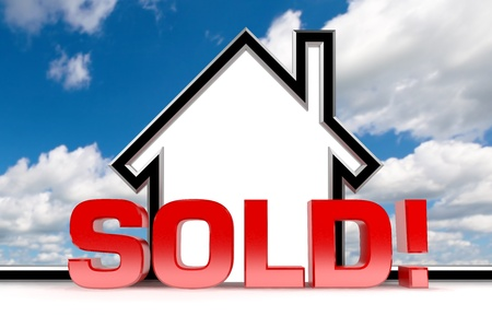 A graphic depiction of sold real estate