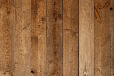 fence panel: wood wall brown Stock Photo