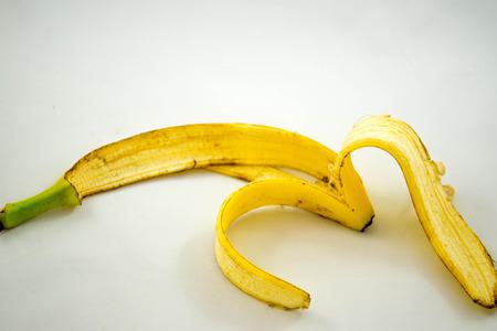 eaten banana peel