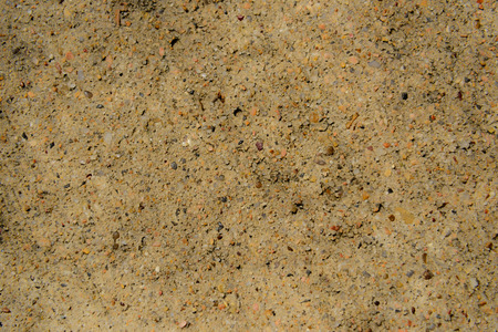 aggregate: concrete with exposed aggregate Stock Photo