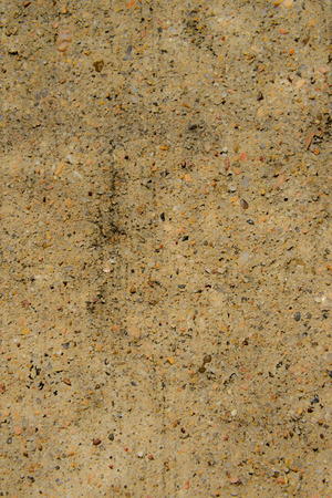 on aggregate: concrete with exposed aggregate Stock Photo