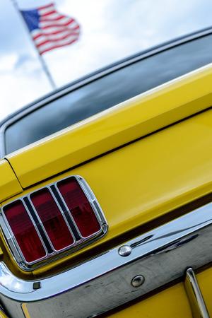 car lamp detail