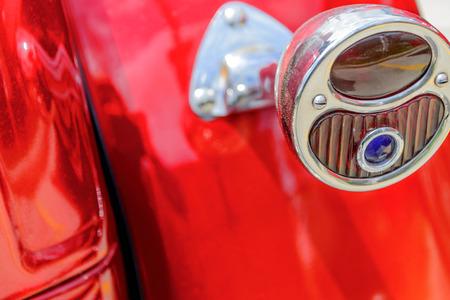 restored: restored red  ford streetrod taillight