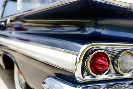 1961 azul luces traseras Chevrolet Impala