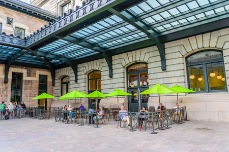 new addition: New addition to historical Union Station in downtown Denver Colorado