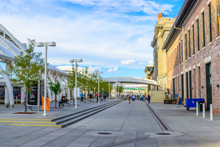 addition: Nouvel ajout � la gare Union au centre-ville historique de Denver Colorado