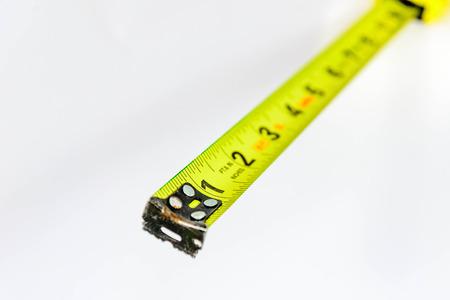 黄色の拡張テープ メジャー