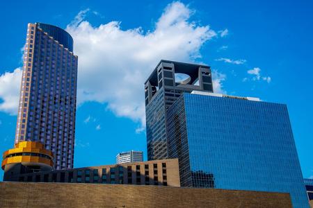 Gebouwen in het centrum van Houston, Texas