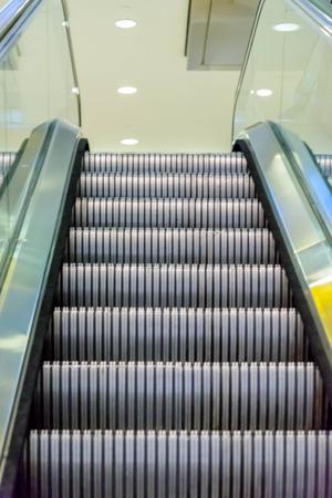 den: DIA, DEN, Denver International Airport, CO - empty escalator at DIA