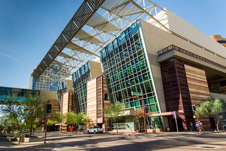 Convention Center exterior in Phoenix, Arizona