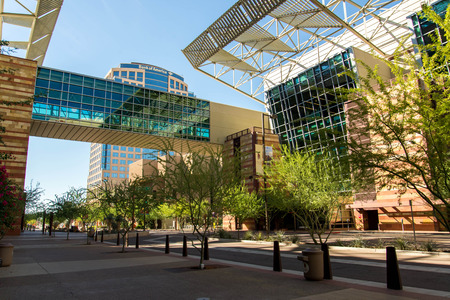 Convention Center exterior in Phoenix, Arizona