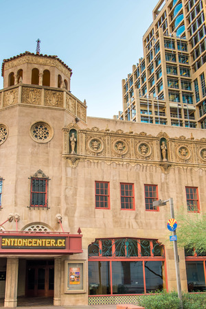 Historic buildings in downtown Phoenix, Arizona