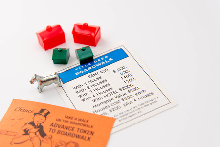 monopoly: Monopoly board game