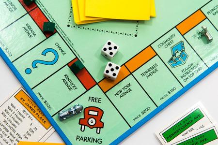 Juego de mesa Monopoly Foto de archivo - 33737131