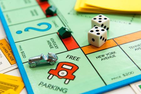 Juego de mesa Monopoly Foto de archivo - 33737133