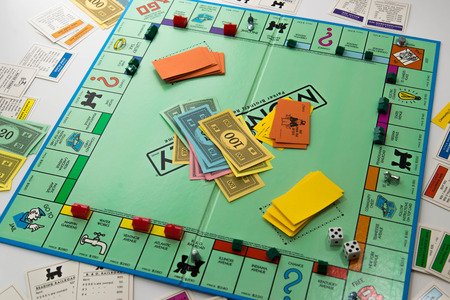 board: Monopoly board game