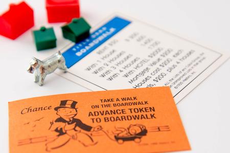 Monopoli gioco da tavolo Archivio Fotografico - 33737177