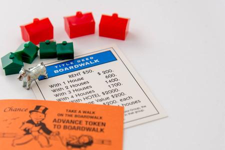 Juego de mesa Monopoly Foto de archivo - 33737179
