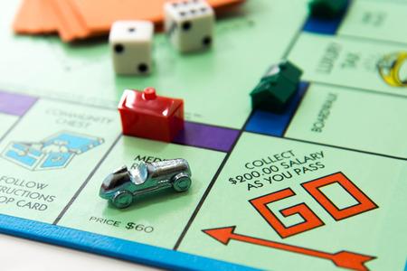 Juego de mesa Monopoly Foto de archivo - 33737224